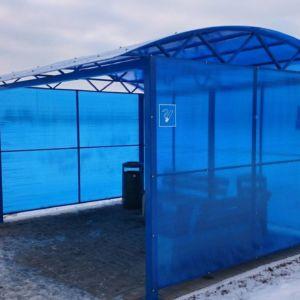 Павильон для курения в Иркутске