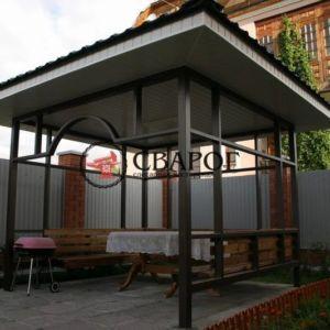 Беседка для двора 3 на 3 в Иркутске