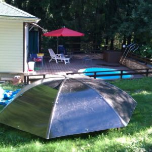 Навесы для бассейна зонтик фото 2