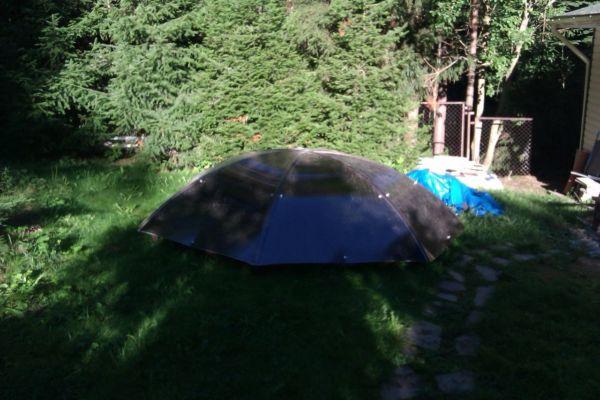 Навесы для бассейна зонтик фото 1