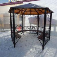 Кованая беседка (2 на 2) в Иркутске