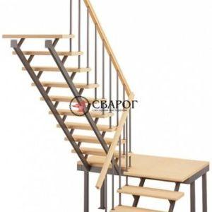 Лестница на стальном каркасе ЛЕС-06 в Иркутске