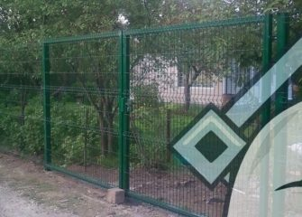 Монтаж заборов 3D в Иркутске