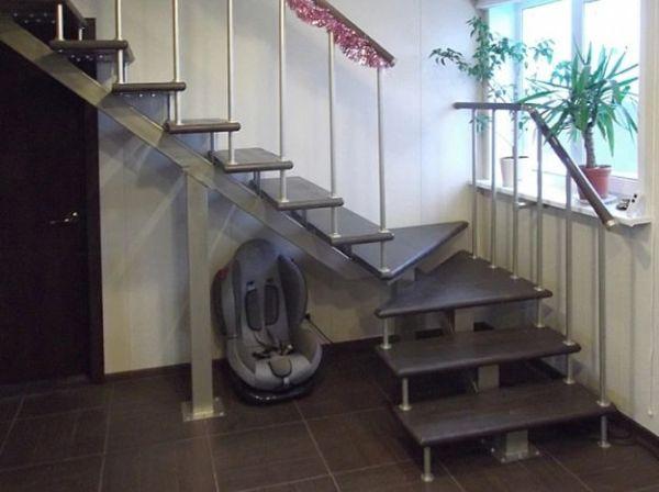 Лестница на монокосоуре Г-образная (2) фото 1