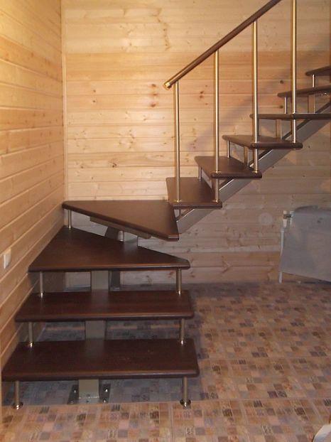 Лестница на монокосоуре Г-образная (2) фото 3