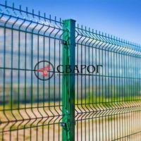 Забор из 3D сетки, высота 1.5 м под ключ в Иркутске
