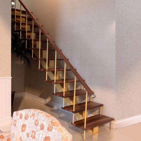 Лестница на монокосоуре прямая в Иркутске