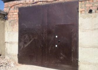 Готовые гаражные ворота