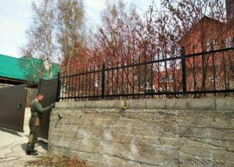 Монтаж сварных заборов в Иркутске