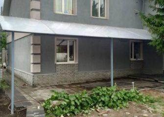 Изготовление навесов из поликарбоната в Иркутске