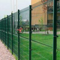 Забор из 3D сетки, высота 2 метра под ключ в Иркутске