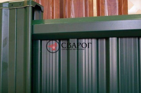 зеленый забор grant line