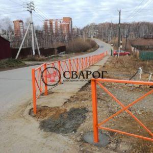 Тротуарное ограждение - эскиз 1 в Иркутске