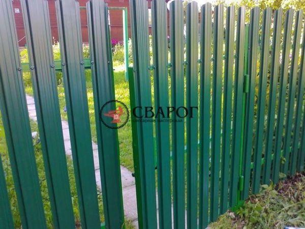 Забор из штакетника иркутск