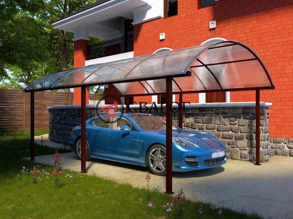 Навес для автомобиля Кротон фото 2