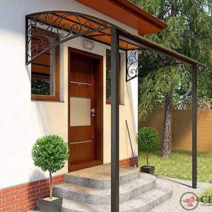 Козырек-навес для входа в дом