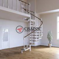 Красивая винтоваля лестница
