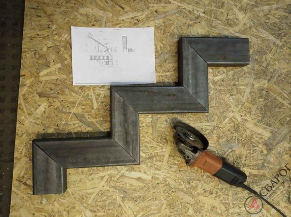 Каркас П-образный с площадкой фото 3